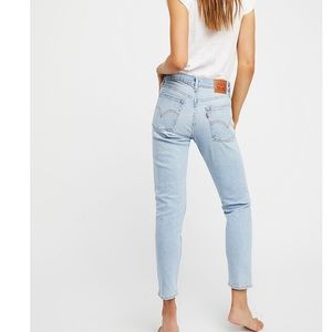 Levi's wedgie fit icon high rise